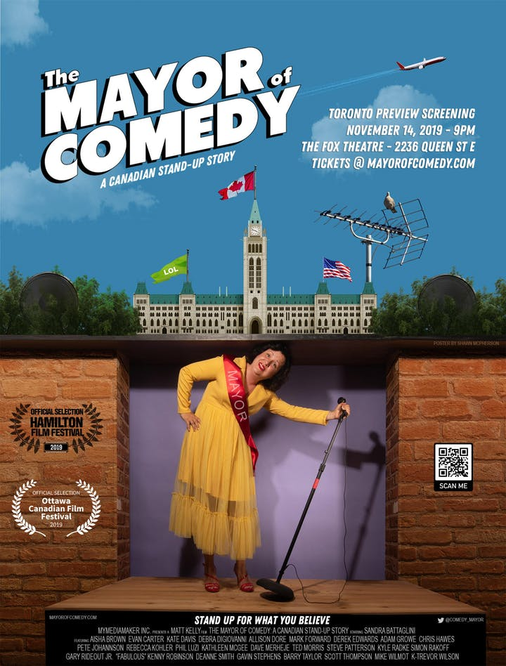 The Mayor of Comedy by Matt Kelly